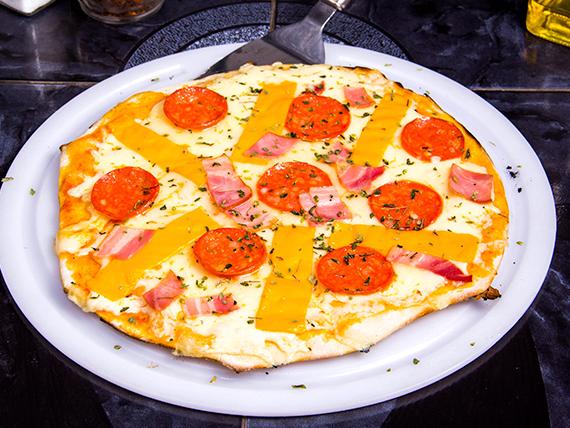 Pizza shine a light