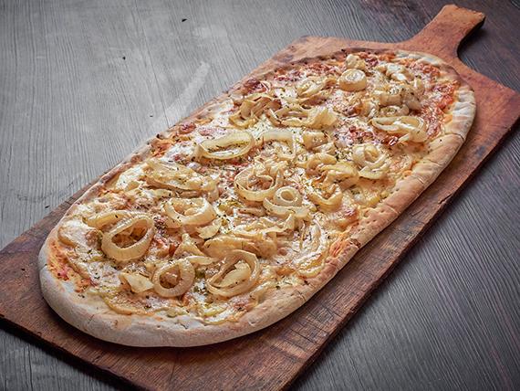 Pizza fugazza (8 porciones - al molde)