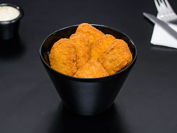 Nuggets de pollo (6 unidades)