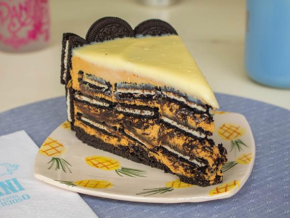 Torta black cookies cake