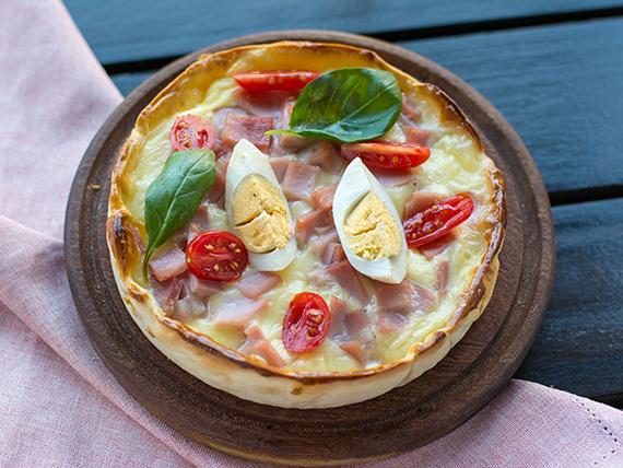Tarta  de jamòn y queso  (individual)