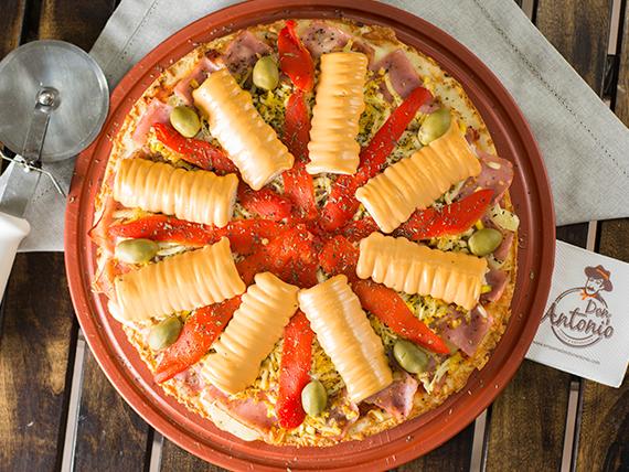 Pizza con palmitos especial