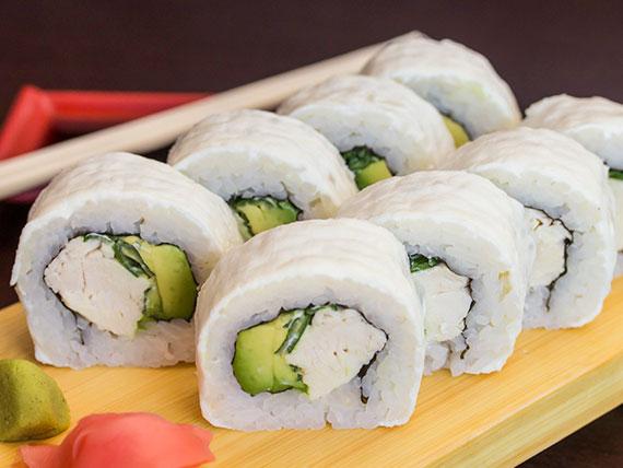 Cheese teriyaki roll (8 piezas)