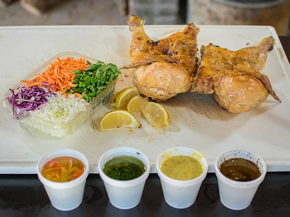 Combo 7 - Pollo con ensalada