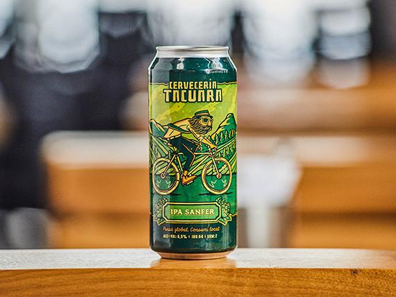 Cerveceria Tacuara IPA sanfer 473 ml en lata
