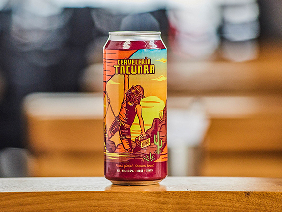 Cerveza Tacuara blonde 473 ml