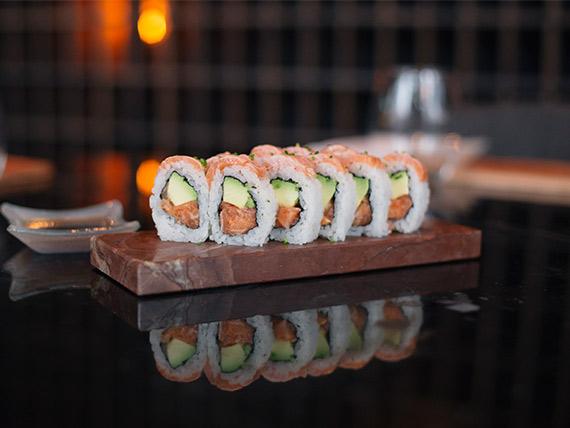 2 salmones roll