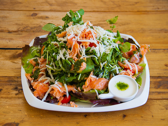 Kopao salad de salmón