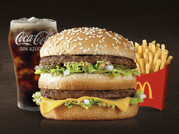 Combo Big Mac mediano