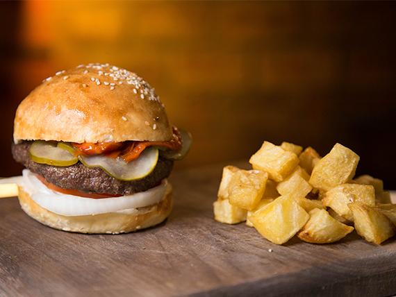 Pepper burger