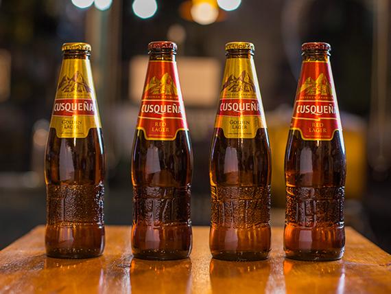 Cerveza Cusqueña 330 ml