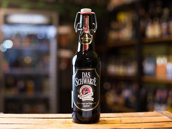 Cerveza Das Schwarze dark lager 500 ml