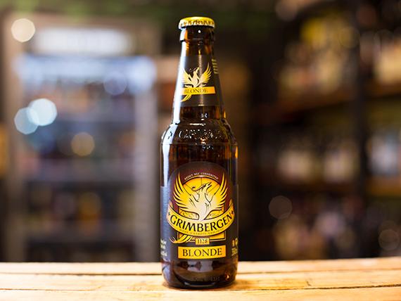 Cerveza Grimbergen blonde 330 ml