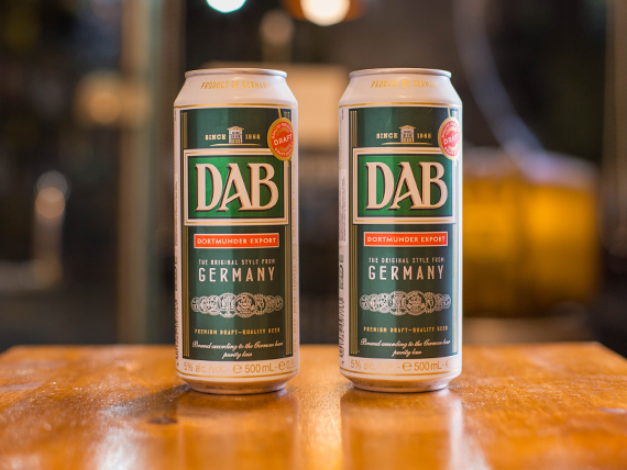 Cerveza Dab lager lata 500 ml