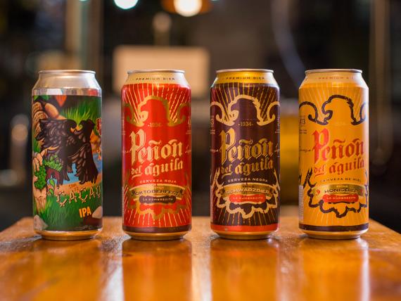 Cerveza Peñon del Águila lata 500 ml
