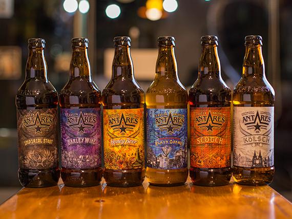 Cerveza Antares 500 ml