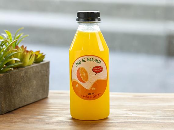 Jugo de naranja de 500 ml