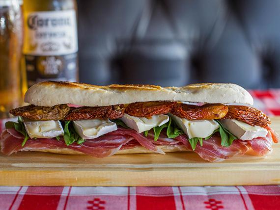 Sandwich crudo