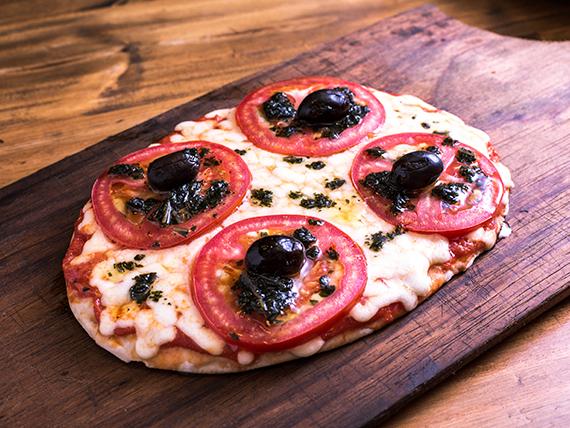24 - Pizza siciliana (4 porciones)