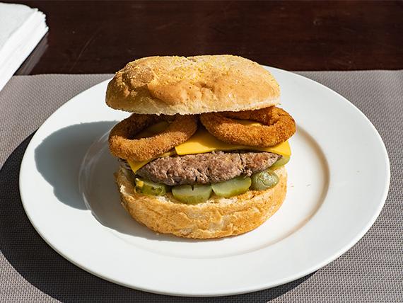 Hamburguesa gourmet Gran Texas