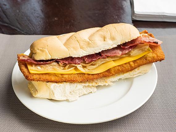 Sándwich de milanesa King