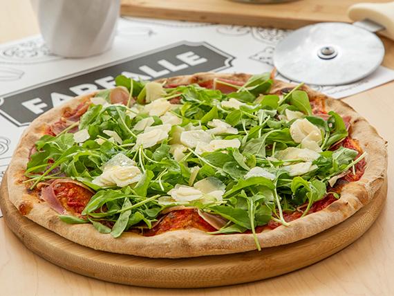 Pizza prosciutto & arágula