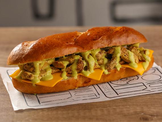 Sándwich de pollo up!
