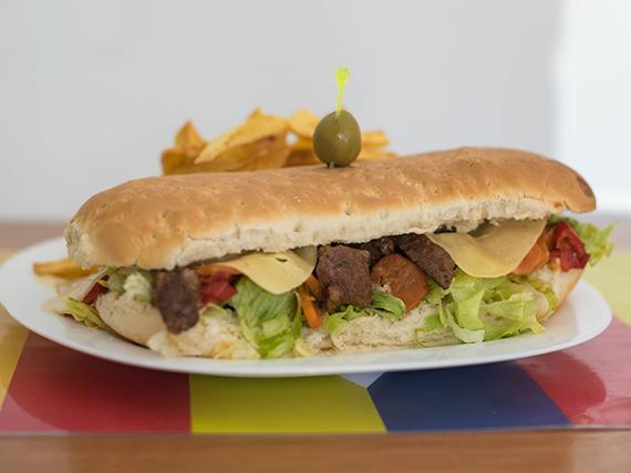 Sándwich combo