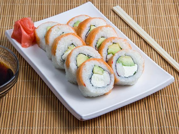 Maki Sake (envuelto en salmón)
