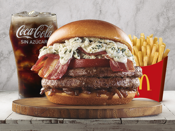 Combo Blue Cheese & Bacon