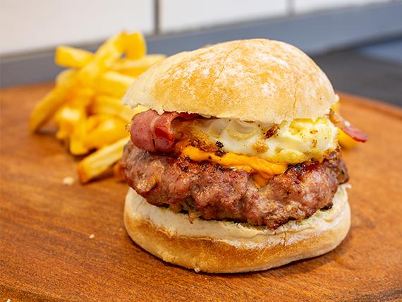 Sándwich de hamburguesa gourmet Berlín