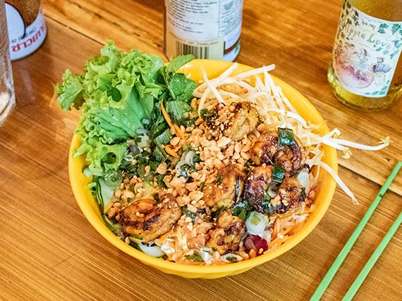 Bún tom (comida vietnamita)