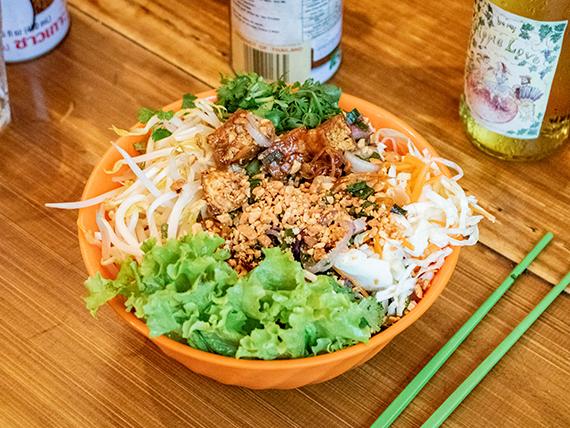 Bún Xào chay (comida vietnamita)