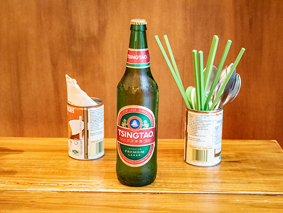 Cerveza china Tsingtao 660 ml