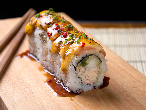 Sweet spicy roll