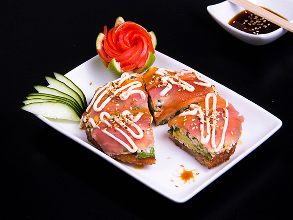 Sushi pizza Arashi