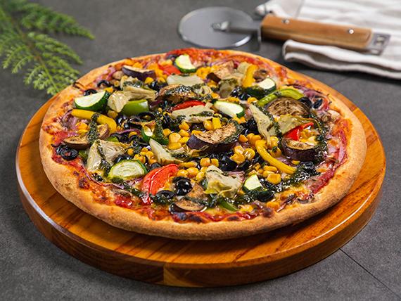 Pizza vegetale grande