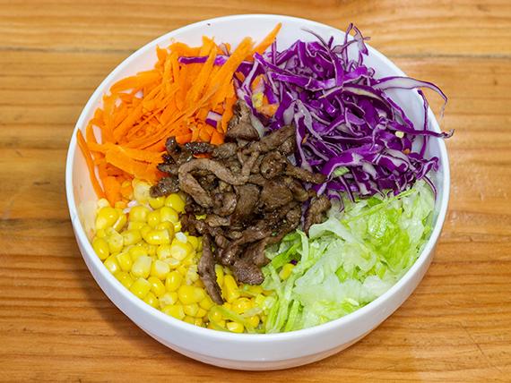 Bowl de carne (res)