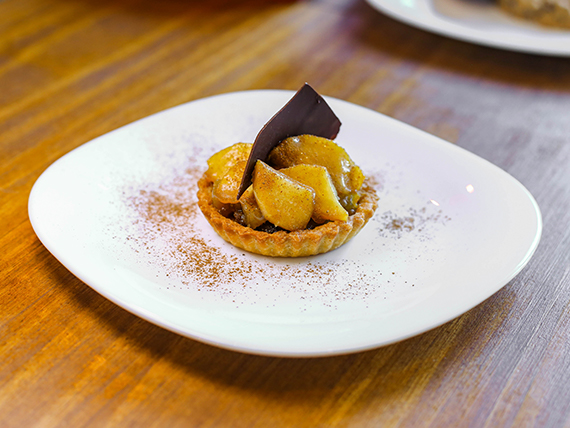 Tarteletas de manzana