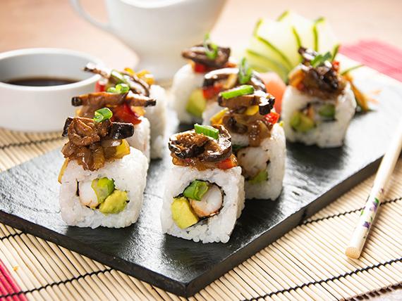 Shitake roll (8 piezas)