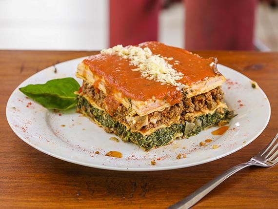 Jueves - Lasagna