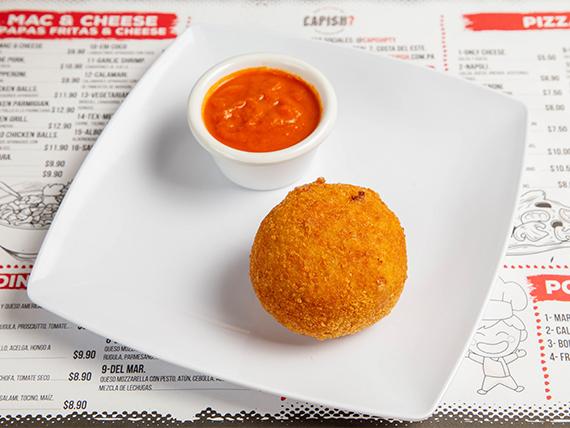 Arancini mac and cheese