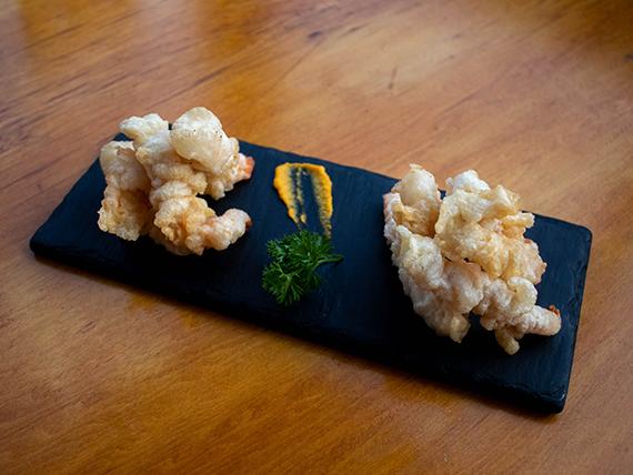 Camarón tempura