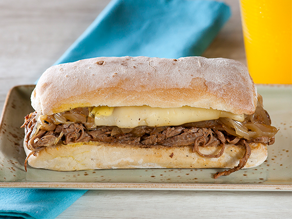 Sándwich plateada chi-pe