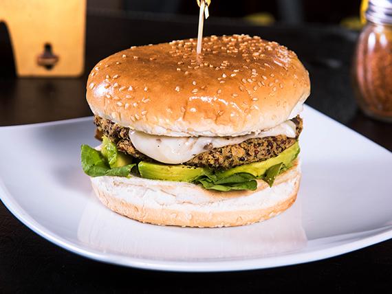 Sándwich tres quínoas burger