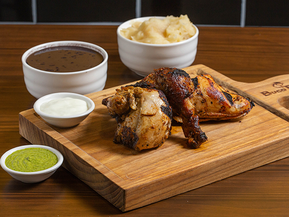 1/2 pollo - Buco Pack
