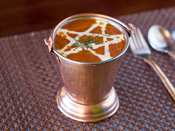 Dal Makhani (vegetariano)