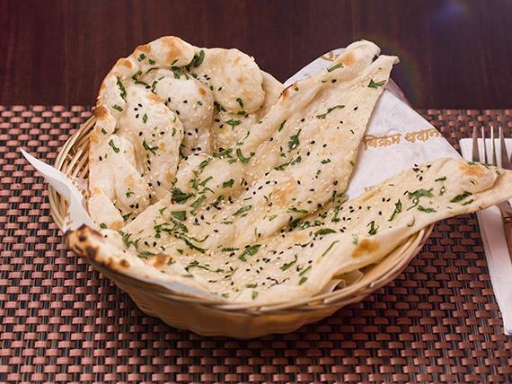 Tilldania naan  (vegetariano)
