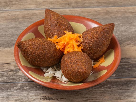 Kibbi de carne (4 piezas)