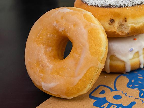 Donut glaseada clásica